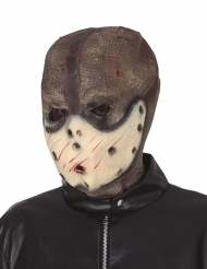 Brunbeige monstermask vuxen