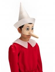 Pinocchio™ halvmask av latex vuxen