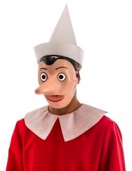 Pinocchio™ plastmask med avtagbar näsa vuxen