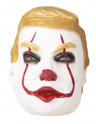 Clownen Trumpy vuxenmask