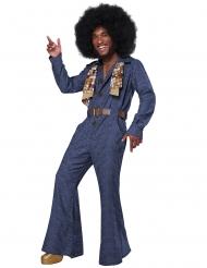 Disco jeansdräkt herr