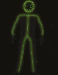 Streckgubbe LED vuxendräkt