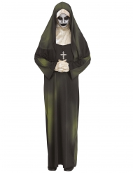 Hemsökt nunna vuxendräkt