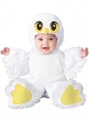 Vit uggla småbarnsdräkt