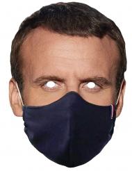 Mask med Macron i mask