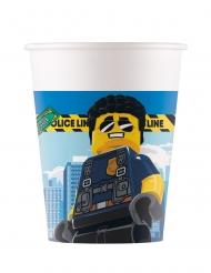 8 Lego City™ pappmuggar 200 ml