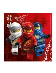 20 Lego Ninjago™ pappersservetter 33x33 cm