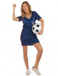 Fransk supporterklänning dam