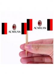 24 Milan™ tandpetsflaggor 6,5x5 cm