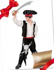 Presentpaket med piratdräkt och tillbehör