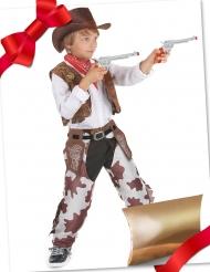 Presentpaket cowboydräkt med tillbehör