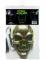 Neonfärgat skelett - Maskeradmask till Halloween för vuxna-1