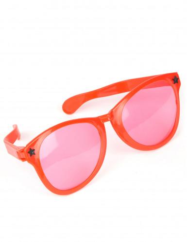 Jättestora röda glasögon vuxna