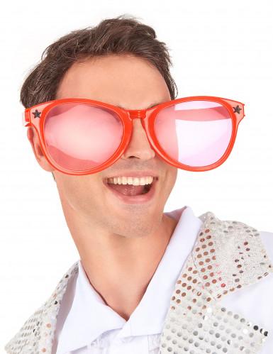Jättestora röda glasögon vuxna-1