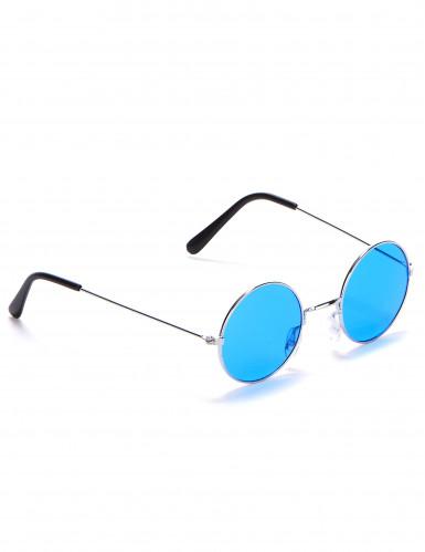 Runda hippieglasögon vuxna-1