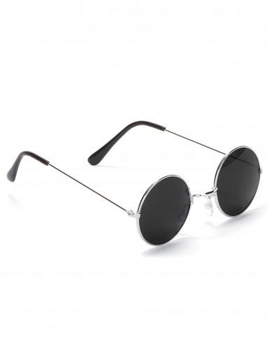 Runda hippieglasögon vuxna-2