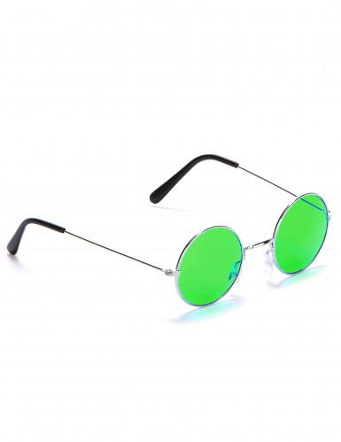 Runda hippieglasögon vuxna-4