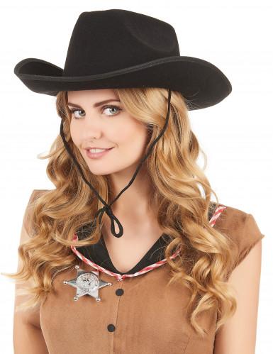 Cowboyhatt vuxna-1