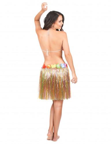 Söderhavsinspirerad flerfärgad kjol för vuxna-2
