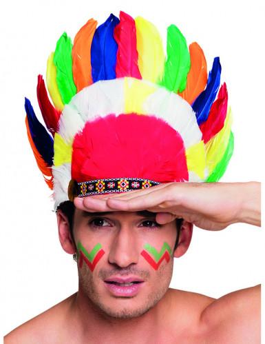 Indianhuvudbonad - Maskeradhattar för vuxna