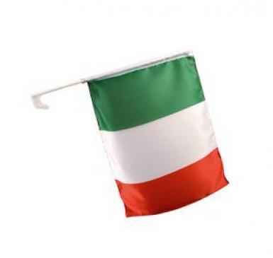 Italiensk supporterflagga för bilen
