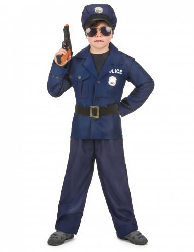 Lyxig polisdräkt för barn till kalaset