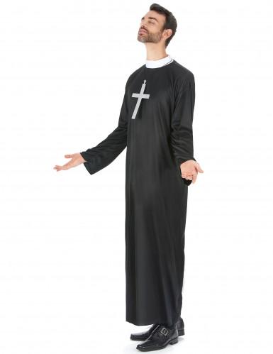 Klassisk prästdräkt - Maskeradkläder för vuxna-1