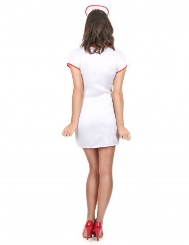 Sexig sjuksköterskedräkt för vuxna till maskeraden-2