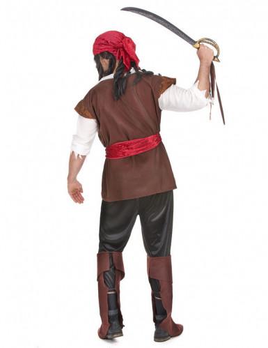Fäktande Fredrik - Piratdräkt för vuxna-1