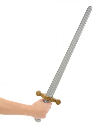 Svärd för medeltidsriddare i plast-1