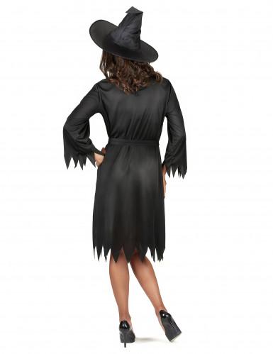 Svart häxa - Utklädnad för vuxen till Halloween-2