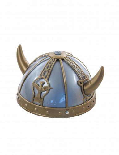 Viking supporterhjälm