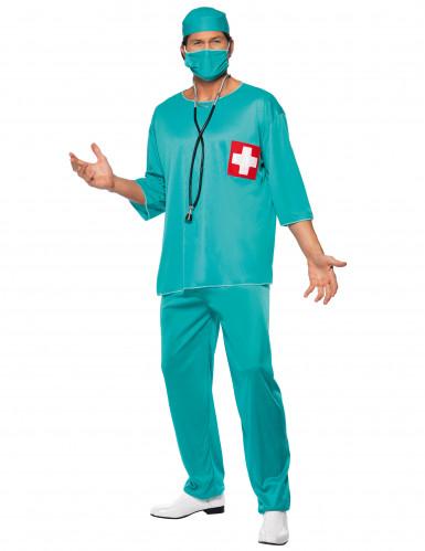 Akutkirurg Maskeraddräkt Man