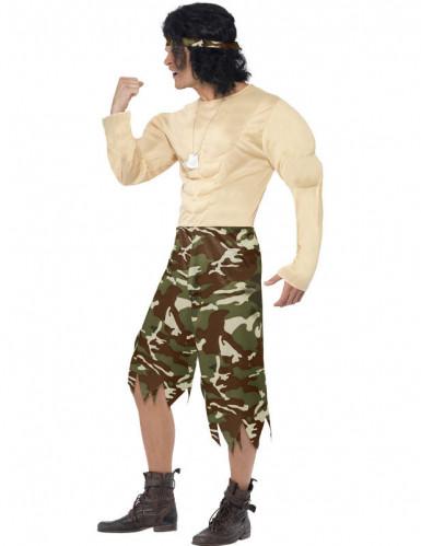 Militärknutte - Maskeradkläder för vuxna-1
