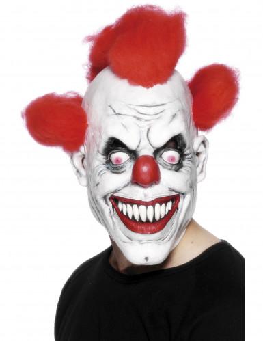Clownmask skräck Halloween vuxna