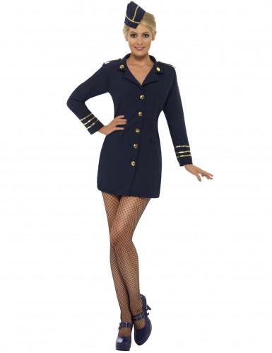 Sexig flygvärdinna - utklädnad vuxen