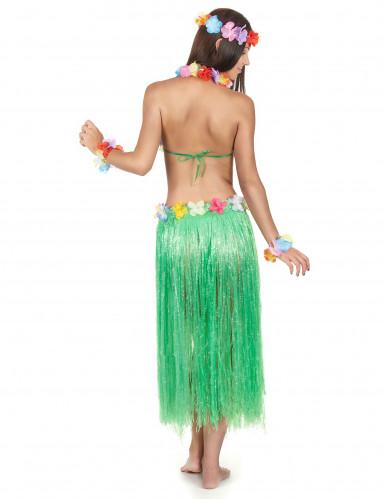 Grönt Hawaii-set för vuxna-2
