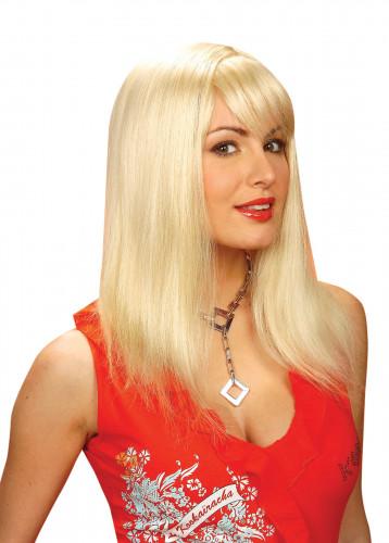 Glammig blondin - Peruk för vuxna