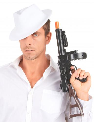 Vit Gangsterhatt Vuxen-2