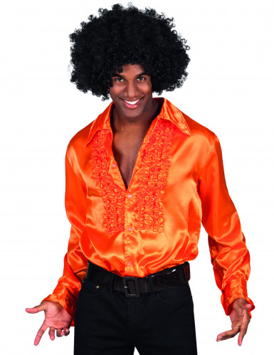 Skjorta disco orange man
