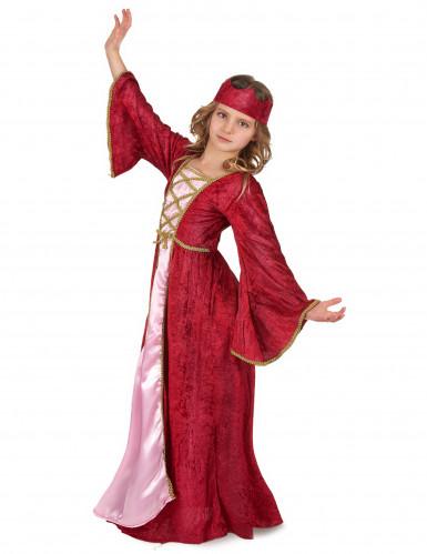 Medeltida prnsessa - Utklädnad för barn till maskeraden-1