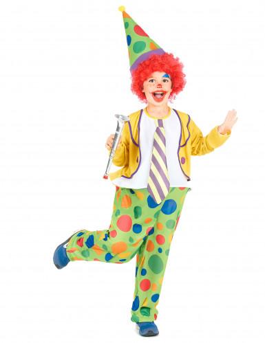 Dazzle - Clowndräkt i barnstorlek