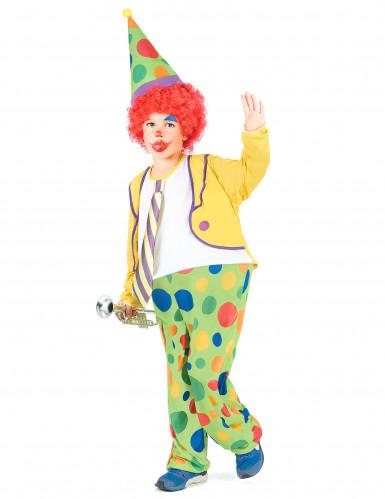 Dazzle - Clowndräkt i barnstorlek-1