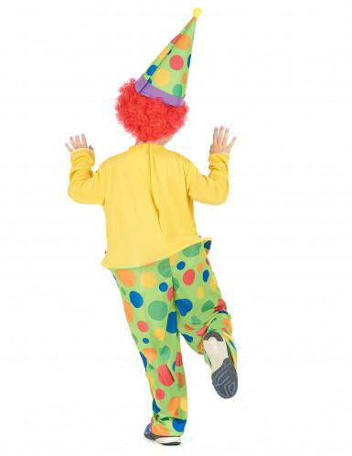 Dazzle - Clowndräkt i barnstorlek-2