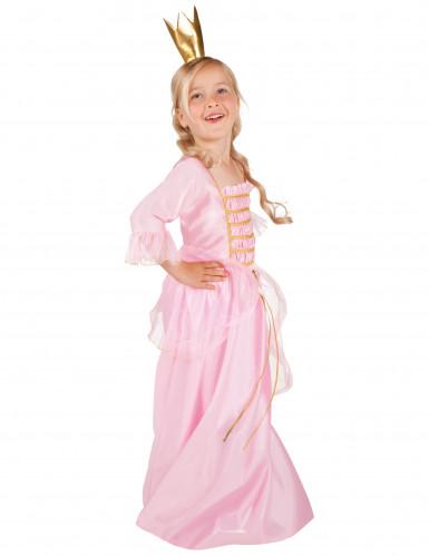 Sagoprinsessa i rosa klänning - Utklädnad för barn