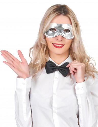 Silvrig Mask Vuxen