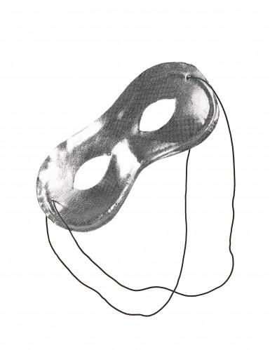 Silvrig Mask Vuxen-1