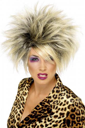 Vild bBlond peruk