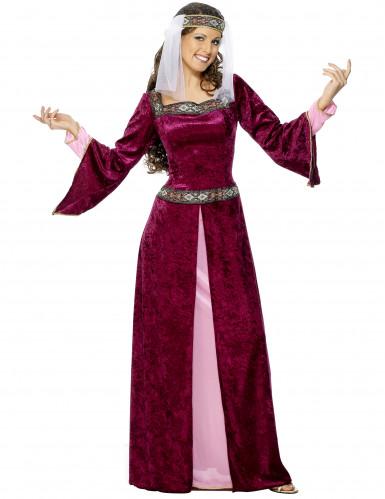 Medeltida drottning - utklädnad vuxen