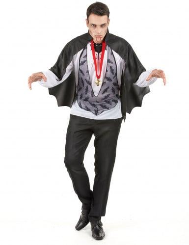 Draculakostym Halloween man